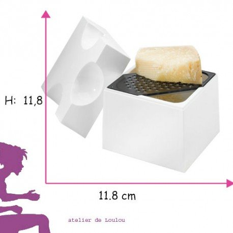 boite fromage | râpe fromage | boite conservation fromage