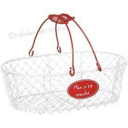 panier blanc | panier fruit | red basket
