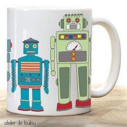 mug robot | tasse robot | déjeuner robot