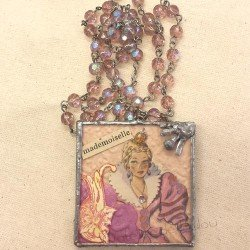collier vintage | chapelet vintage | vintage mademoiselle