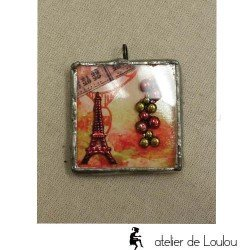collier paris | paris pendant | eiifel tower pendant
