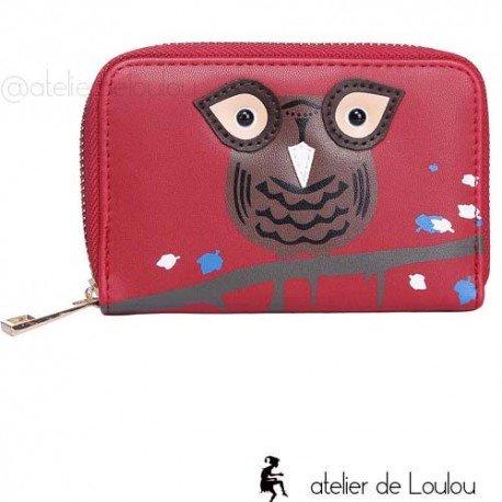 owl wallet   portefeuille chouette   porte monnaie hibou