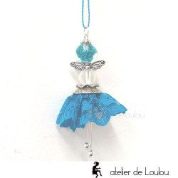 collier fée | collier papillon