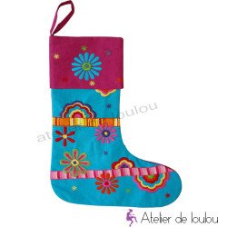botte sapin de noel | chritsmas socks