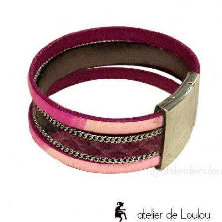 fabricant bracelet en cuir