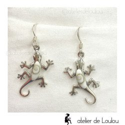 achat bijou gecko   acheter boucle oeil de sainte lucie