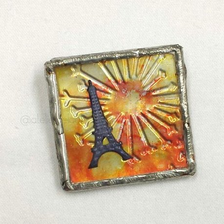 broche tour eiffel | eiffel tower brooch