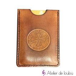 Acheter porte carte cuir artisanal