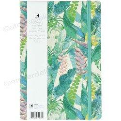 accessoire feuilles exotiques | notebook