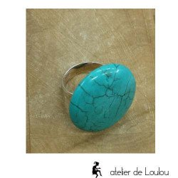 bague turquoise | bague artisanale turquoise