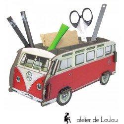 werkhaus | combi vw | voiture pot crayon | pot crayon bois love