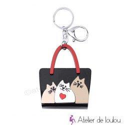 Porte clé chat | achat accessoires chats