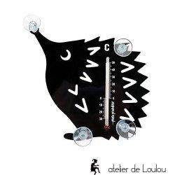 Thermomètre hérisson
