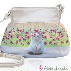 sac chat jasmine | achat sac fille chat