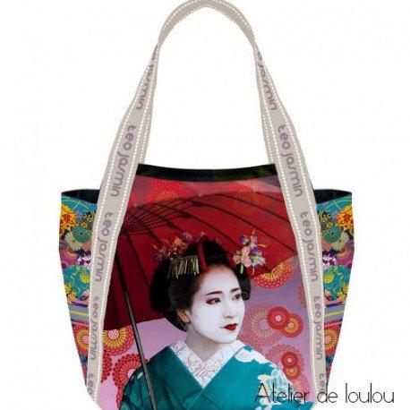 sac cabas TEO JASMIN | sac japon | sac japonaise | sac lunch