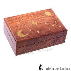 acheter boite bois rangement | achat boite bijou