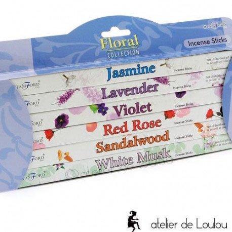 Acheter encens fleur | achat encens jasmin