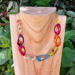 Acheter collier boho | acaht collier bois
