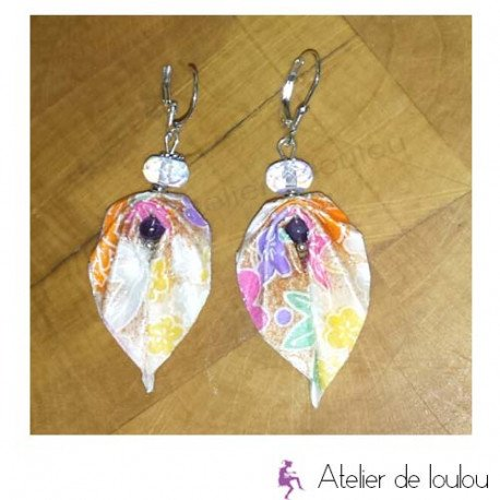 Achat bijou violet | acheter bijou handmade