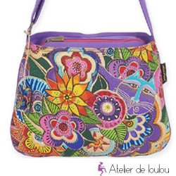 Achat sac chats   laurel burch bag