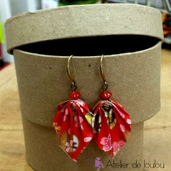 bijou japonais origami | acheter bijou fait main