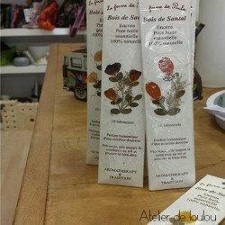 Acheter encens santal | achat encens biologique bois santal