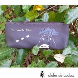 Trousse totoro   pochette totoro   totoro mon voisin accessoire