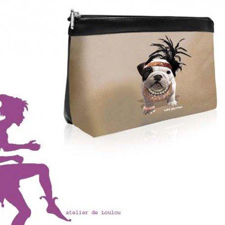 pochette téo jasmin | pochette chien