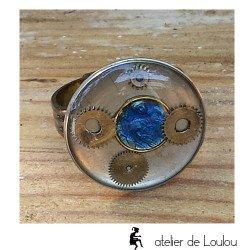Bague catho | achat bijou steampunk