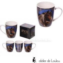acheter mug Lisa Parker | achat cadeaux cheval