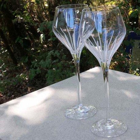 acheter verre cristal arques   verre à vin cristal