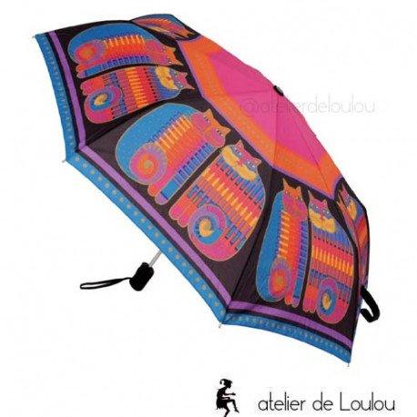 Umbrella Laurel Burch | achat parapluie chats