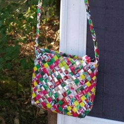 Sac à main recyclé   recycle bag