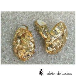 achat clips oreilles   achat clip doré