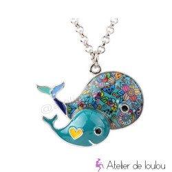 collier fille | collier baleine