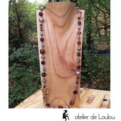 long sautoir   acheter long sautoir perles
