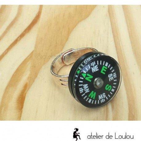 bague boussole | compass ring