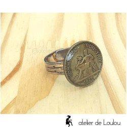 bijou cahors | bague monnaie | money ring