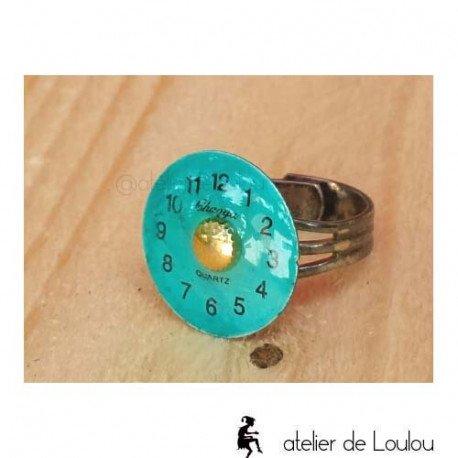 bijou cahors | bague turquoise| blue ring