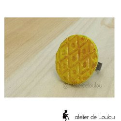 achat bague jaune | bague jaune moutarde