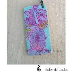 Achat porte clé fleur | acheter porte clés domino