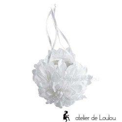 sac demoiselle honneur | achat accessoire mariage blanc