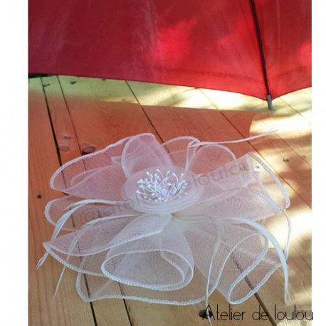 chapeau bibi | chapeau mariage | canotier mariage