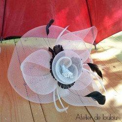 acheter chapeau bibi | chapeau ivoire mariage | canotier mariage