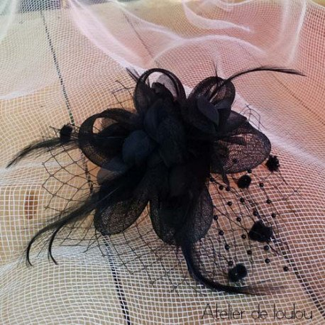 chapeau noir | broche mini chapeau rétro