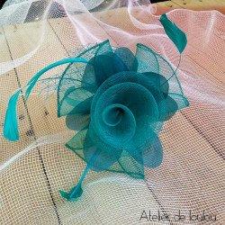 wedding hat | bijou cheveux mariage
