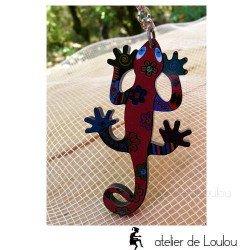 Achat porte clé salamandre| acheter porte clés lézard