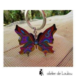 Achat porte clé papillon| acheter porte clés insecte