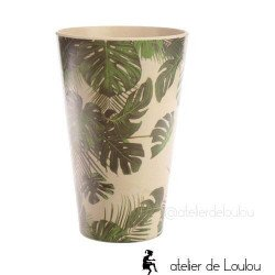 acheter verre bambou tropical|achat mug bambou tropicale