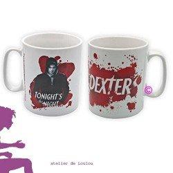 achat mug dexter | mug rouge | tasse rouge